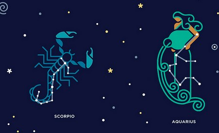 Совместимость знаков Зодиака Водолей и Скорпион